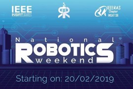 INSAT : National Robotics Weekend 2019